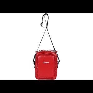 Supreme FW17 Red Shoulder Bag